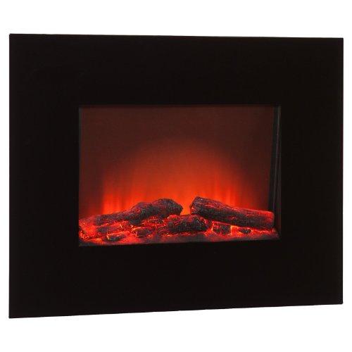 Southern Enterprises Onyx Wall Mount Electric Fireplace