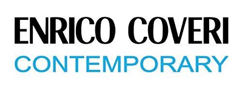 Elegante con Funzione Letto in Tessuto ed Ecopelle Enrico Coveri Contemporary Divano Letto 3 Posti Beige e Marrone 220 x 85 x 85 cm Dimensioni