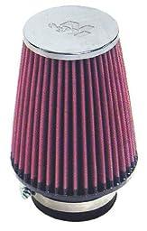 K&N RF-1039 Universal Chrome Filter