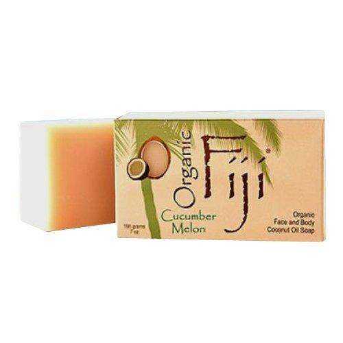 Organic Fiji Cucumber Melon Soap (3 pack)