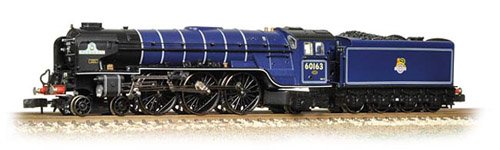 Graham Farish 372-800B Class A1 60163 Tornado BR Express Blue