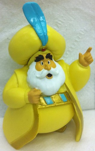 Disney-Aladdin-Sultan-Petite-Doll-Cake-Topper-Figure-Style-May-Differ