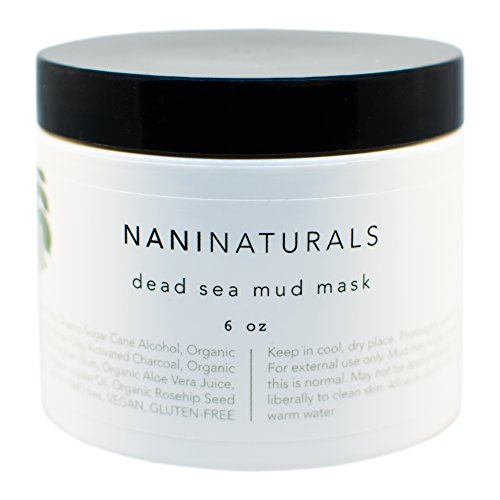Nani Naturals Dead Sea Mud Mask, 6 Ounces, Organic, Made in USA (Face Spa Purifying Clay Mask compare prices)