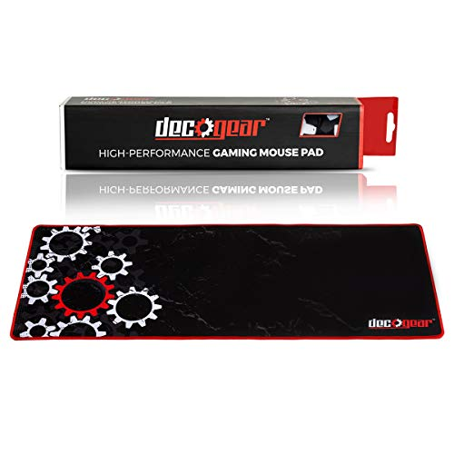 Deco Gear Large Extended Pro Gaming Mouse Pad Water Resistant Non-Slip (12