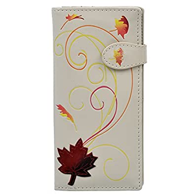 Shagwear Women's Large Wallet Canadiana Cream