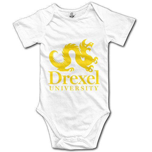 drexel-university-unisex-short-sleeve-bodysuits-for-baby-boys-girls