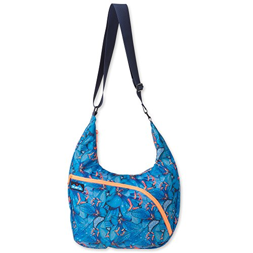 KAVU Singapore Satchel Backpack, Electric Lily, One (15 Lily Base)
