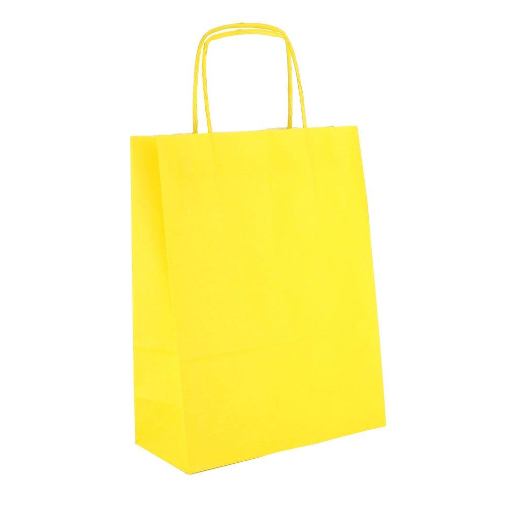 300 Tragetaschen Verona hoch 22x10x29 gelb