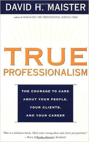 True Professionalism Summary