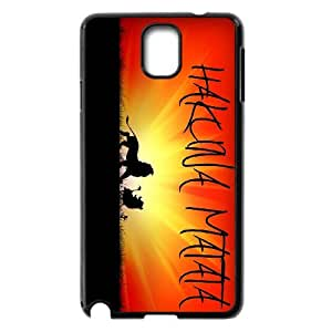 Hakuna Matata, Lion King Phone Case For Samsung Galaxy NOTE4 Case Cover KHR-U568119