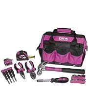 The Original Pink Box PB85TK - Juego de herramientas (85 piezas), color rosa