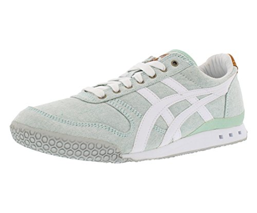 Onitsuka Tiger Women's Ultimate 81 Classic Running Shoe, Palm House/White, 7.5 M US