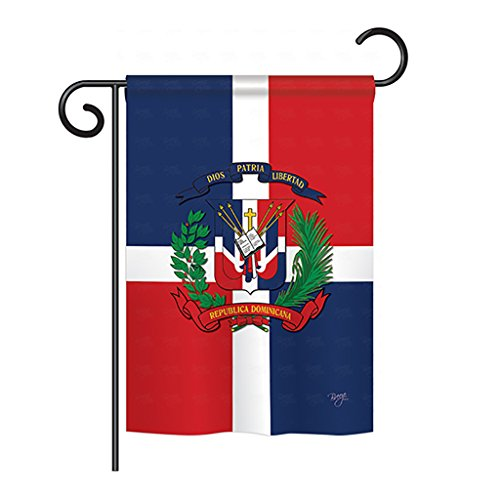 Dominican Republic Panel - Breeze Decor G158156 Dominican Republic Flags of The World Nationality Impressions Decorative Vertical Garden Flag 13