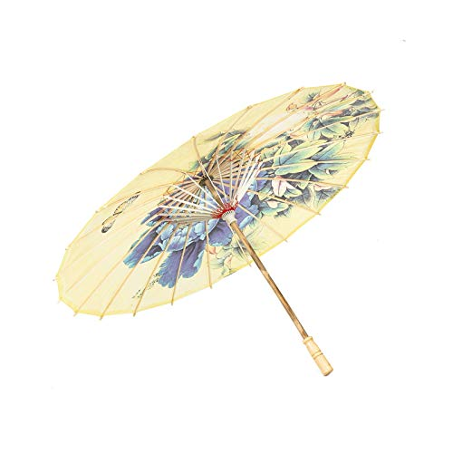 (ASIAN HOME Rainproof Handmade Chinese Oiled Paper Umbrella Parasol 33