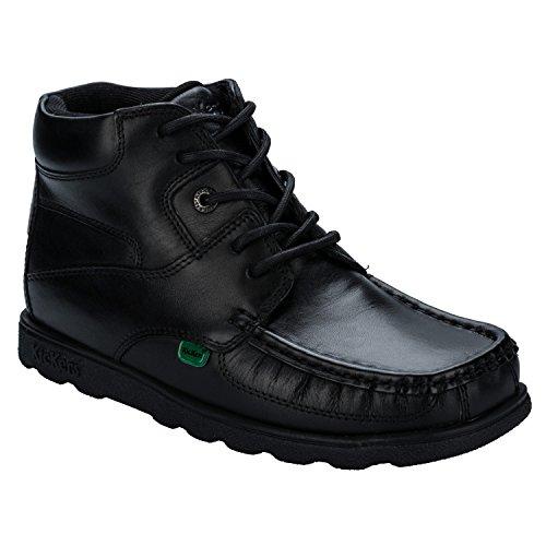 Kickers Boy's Fragma Lace Boot US4 Black