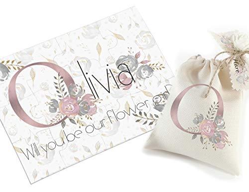 Bridesmaid proposal puzzle Bridesmaid gift - Will you be my bridesmaid? - Asking bridesmaid - Maid of honor - Flower girl
