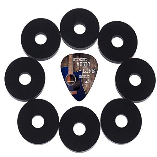 Creanoso Guitar Strap Locks Black  - Premium Guitar Savers -