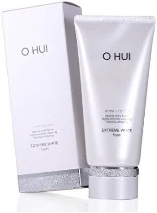Ohui Extreme White Foam 160ml Snow Vitamin Highly Enriched Intensive Whitening