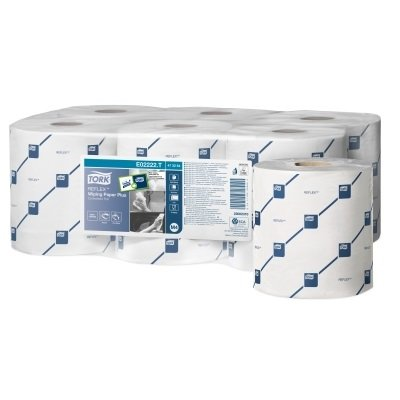 Tork Reflex Wiping Paper Plus White