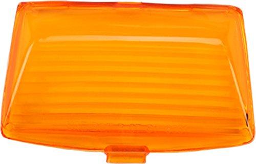 HardDrive F51-0643LA Amber Front Fender Tip Light Replacement Lens ()