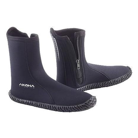 d488285da517 Amazon.com   Akona 3.5mm Standard Nylon Rubber Sole Side Zip Boot ...