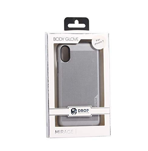 (Body Glove Mirage Case for iPhone X / XS (ONLY) - Silver)