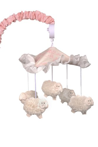 Cotton Tale Designs Heaven Sent Girl Musical Mobile (Cotton Tale Elephant)