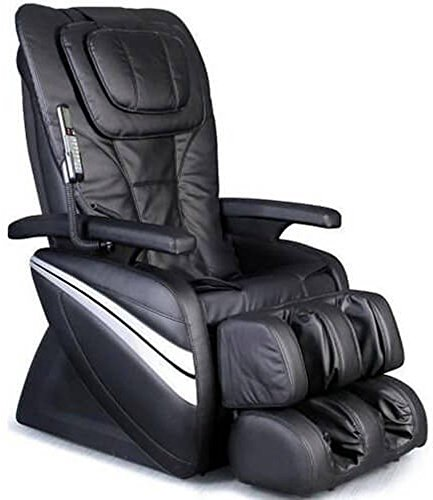 (Osaki OS1000A Model OS-1000 Deluxe Massage Chair, Black, 5 Easy to Use Preset Auto Program, 4 Massage Types, Intelligent 4 roller system, Reclines to 170 degrees, Adjustable air massage)