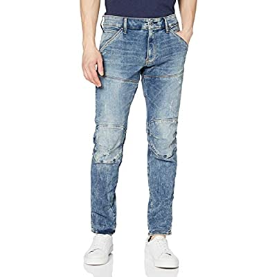 G-Star Raw Men's 5620 3D Skinny, Light Vintage Aged Destroy, 29/32: Clothing