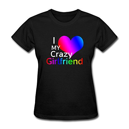 yesher-womens-cool-i-love-my-crazy-girlfriend-tshirt-for-women-black-size-xl