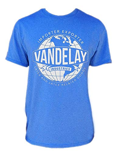 - Autism Awareness Shop Vandelay Industries T-Shirt-Funny Shirt from Seinfeld-Importer/Exporter of Latex Goods-Heather Royal-XXXL