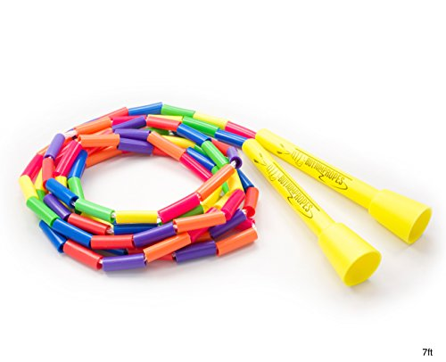 Buy Jump Ropes Segmented Jump Rope, Rainbow, 7-Feet