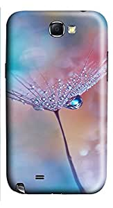 Samsung Note 2 Case nature dandelions 1 2 3D Custom Samsung Note 2 Case Cover