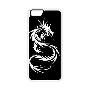 iPhone6s Plus 5.5 inch Phone Case White Dragon tribal WQ5RT7464822