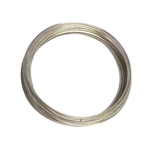 Homyl 0.7 mm Diameter Memory Beading Wire Spring Stainless Steel for DIY Bracelet Jewelry - 6 cm Memory Wire Bangle