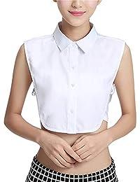 Women's Half Shirt Fake Collar Detachable Shirt Dickey False Collars