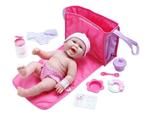 La Newborn 10 Piece Deluxe Diaper Bag Gift Set Featuring