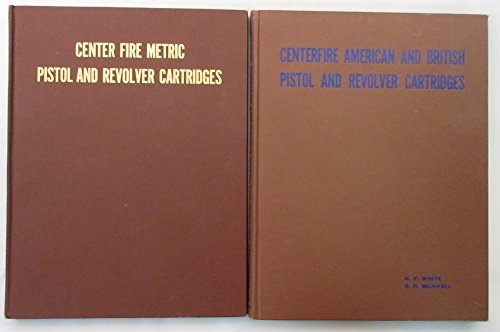 CARTRIDGE IDENTIFICATION (2 VOL SET) VOL I-CENTER FIRE METRIC PISTOL / REVOLVER CART. Vol II Center Fire American / British Pistol and Revolver Cartridges.