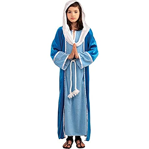 Forum Novelties Biblical Times Deluxe Mary Costume Child Medium  sc 1 st  Amazon.com & Nativity Costumes: Amazon.com