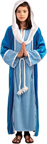 Forum Novelties Biblical Times Deluxe Mary Costume, Child Large (Christmas Nativity Costumes)