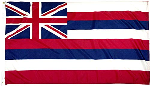 FlagSource Hawaii Nylon State Flag, Made in The USA, 3x5' ()