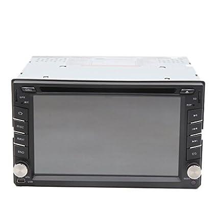 eDealMax 6.2 HD 2 DIN Wince Radio de coche estéreo DVD de la ayuda del jugador