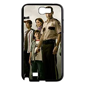 The Walking Dead The Walking Dead Samsung Galaxy Note 2 7100 Black Phone Case Cover LSK1628