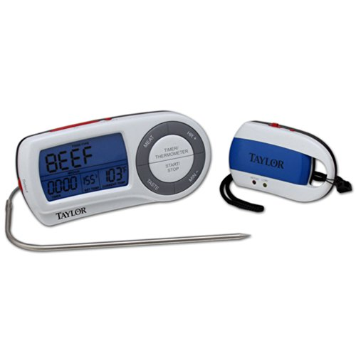 (Taylor Precision Products Gourmet Wireless Remote Thermometer (147921))