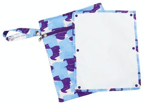 Sarah Wells Pumparoo Wet/Dry Bag for Breast Pump Parts (Painterly)
