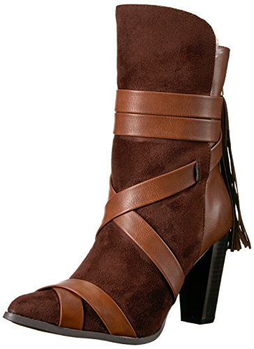Women's Fashion Brown Amp Kenny Penny Boot Distressed Loves TxEgwSqI