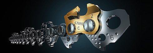 14'' 3/8'' Low Profile .050'' Gauge 50 Drive Link Stihl Rapid Duro 3 Carbide Chain
