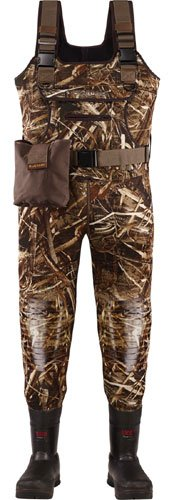 LaCrosse Men's Swamp Tuff Pro 1000 gram Thinsulate Ultra Insulation Chest Waders Mossy Oak Shadow Grass Blades, MOSGB, 7D