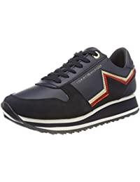 Womens Tommy Star Retro Runner Low-Top Sneakers