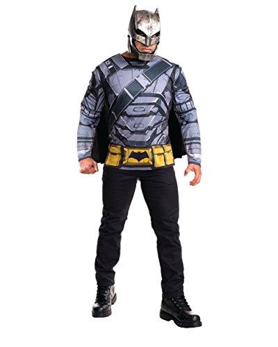 Top Costumes For Halloween 2016 (Rubie's Men's Batman v Superman: Dawn Of Justice Batman Armored Costume Top)